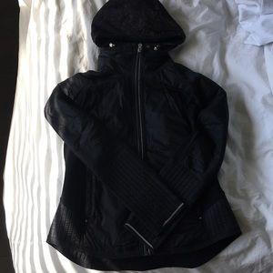 lululemon - black lace/reflective jacket